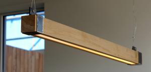 Houten Eettafel Hanglamp Woodlight Indusigns Amsterdam