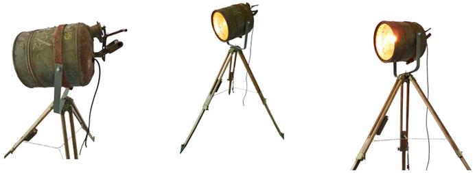 Industriële Vloerlamp 'Rusty Barrel' Indusigns Amsterdam