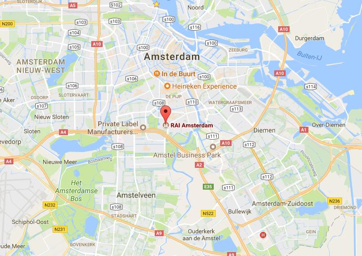 Plattegrond VT Wonen Beurs RAI
