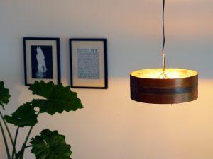Koperen Hanglamp 'Copper Moon' Indusigns 1