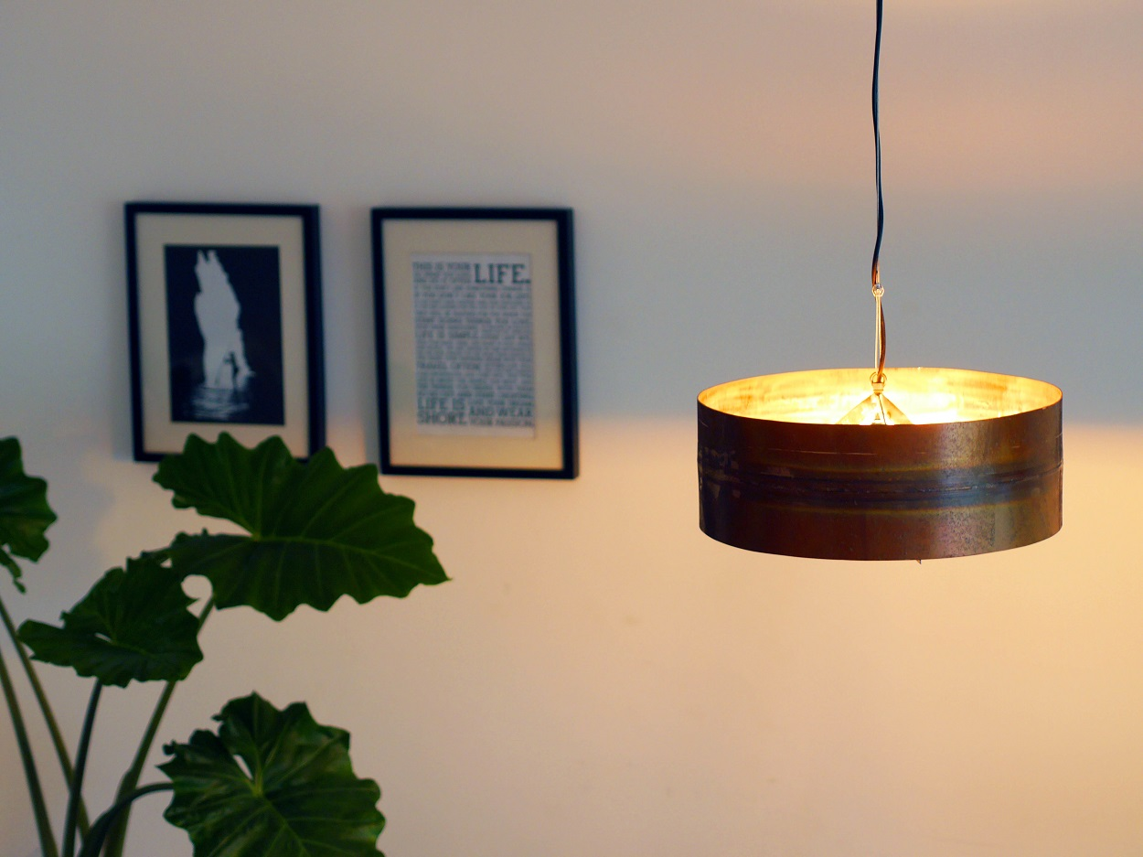 Koperen Hanglamp 'Copper Moon' Indusigns