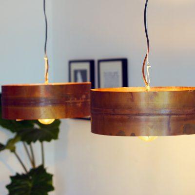 Koperen Hanglamp 'Copper Moon' Indusigns 3