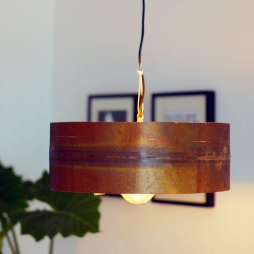 Koperen Hanglamp 'Copper Moon' Indusigns