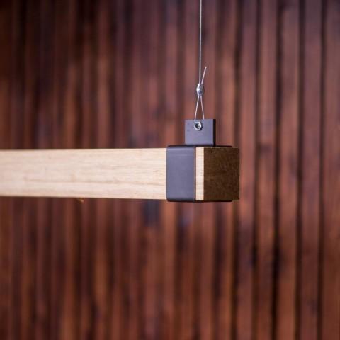 Houten balklamp Woodlight