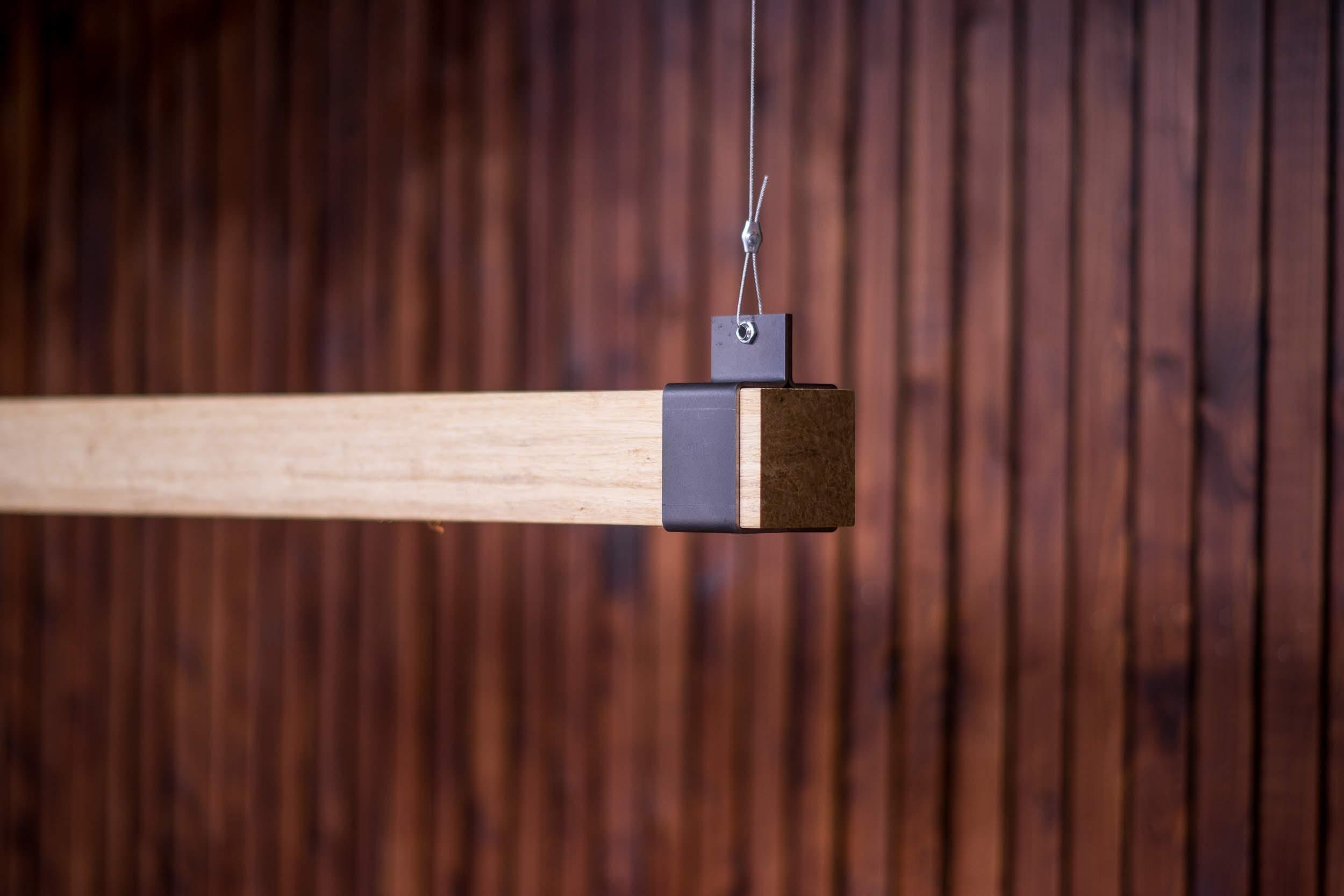 Woodlight Blauwstaal beugel