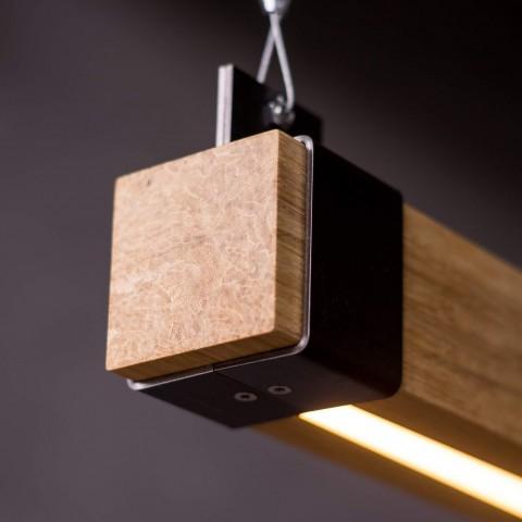 Woodlight Balklamp met LED verlichting