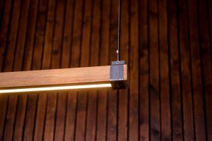 Woodlight Gun Metal Beugel