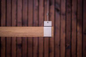 Woodlight RVS beugel