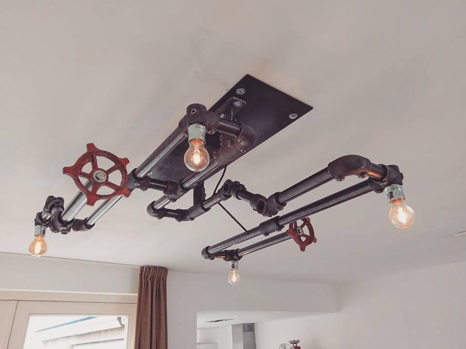 Plafondlamp op maat Indusigns