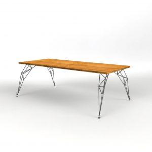Hairpin tafelpoot Rechthoekig tafelblad