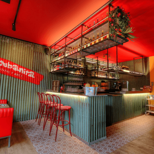 La Cubanita Bar Interieurontwerp