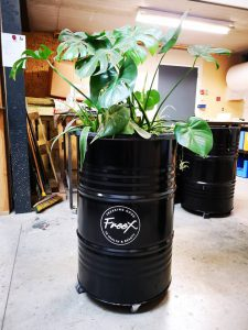 Plantenbak Olievat 200L