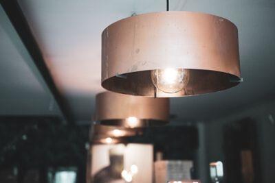 Koperen Hanglampen van Indusigns