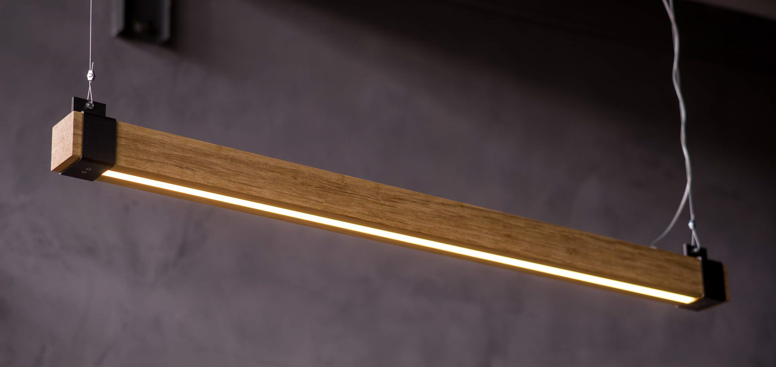 Dimbare LED lamp Woodlight van Indusigns