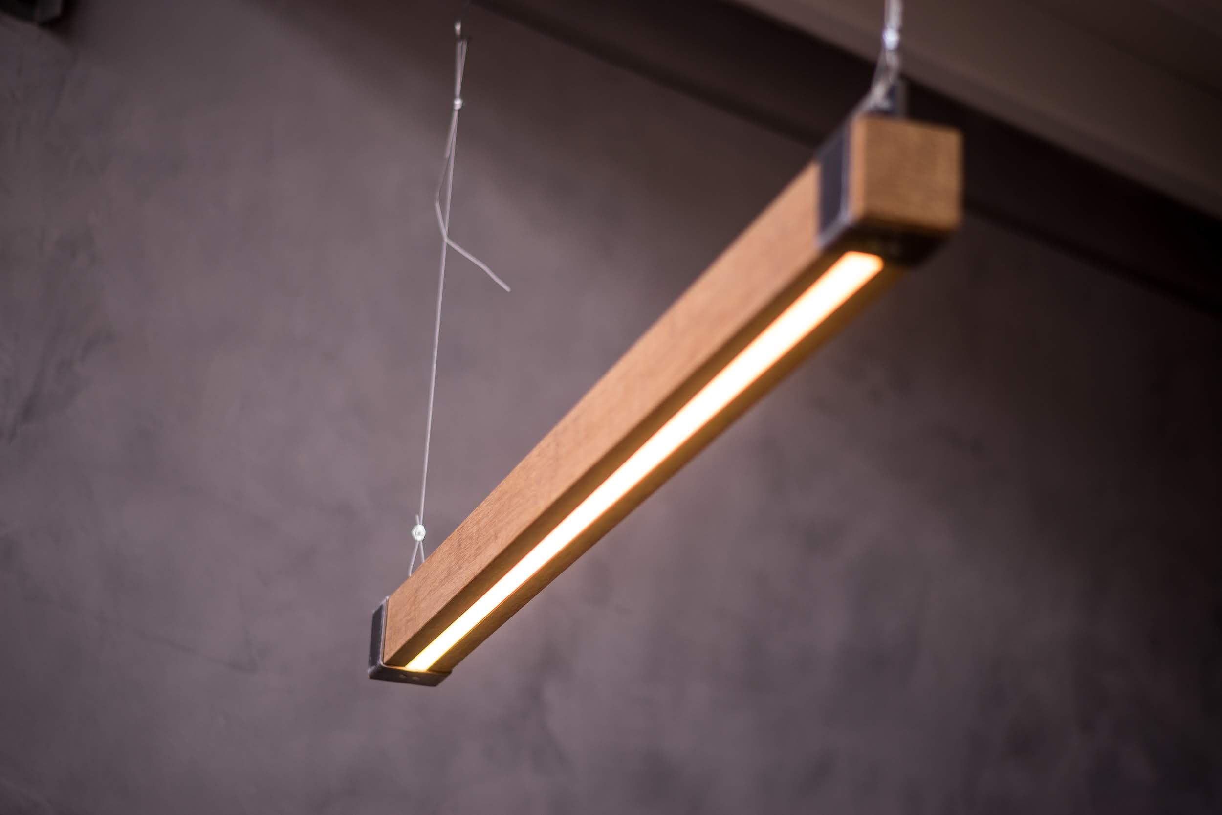 Unieke Balklamp met LED verlichting