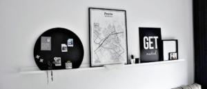 Magneetbord als Muurdecoratie in het Interieur