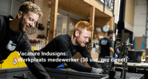 Vacature Indusigns